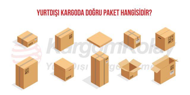 yurtdışı kargoda doğru paket hangisidir