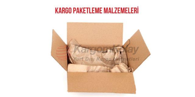 kargo paketleme malzemeleri