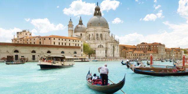 İtalya Venedik kargo
