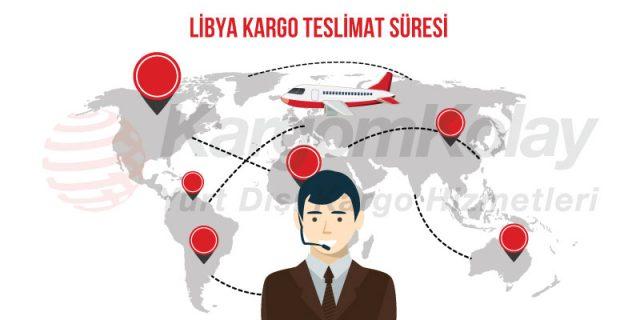 libya kargo teslimat süresi