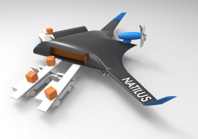 Natilus Drone Kargo