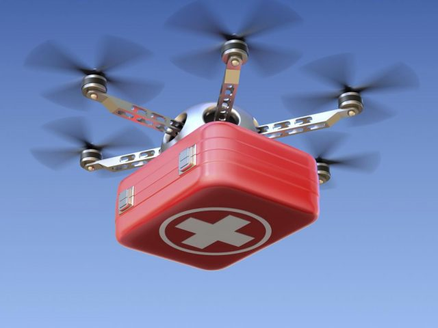 Ups Drone Gana