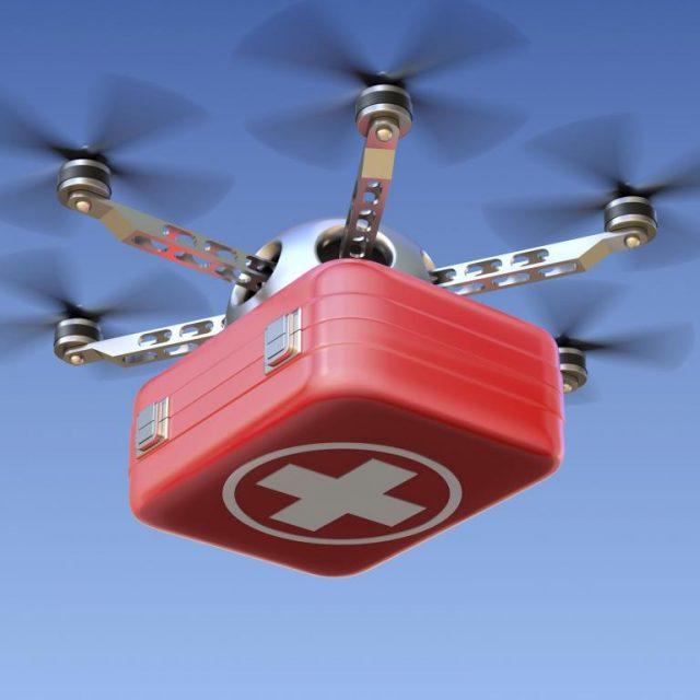 UPS Vakfı Zipline'ın Drone ile Teslimatına Destek Çıkıyor