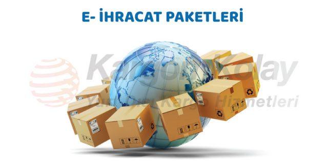 e-ihracat paketleri