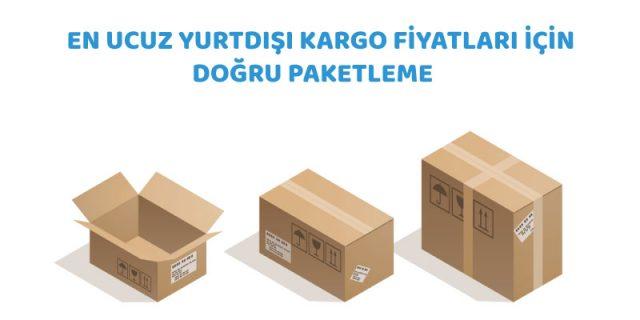 en ucuz yurtdışı kargo fiyatları için doğru paketleme