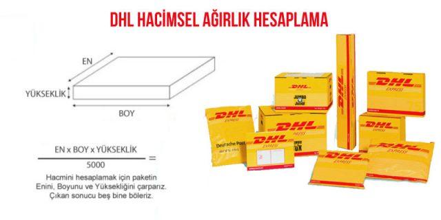 DHL hacimsel ağırlık hesaplama