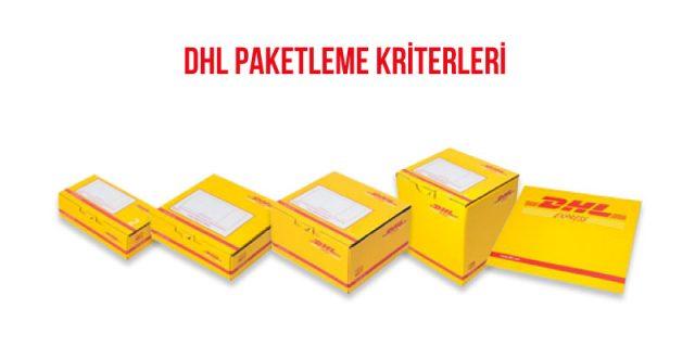 dhl paketleme kriterleri
