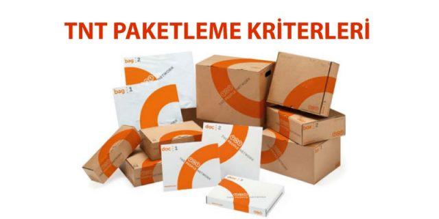 tnt paketleme kriterleri