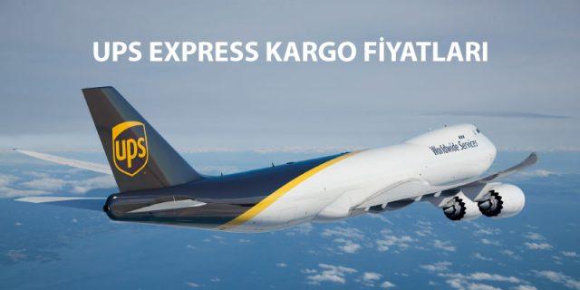 ups express kargo fiyatları